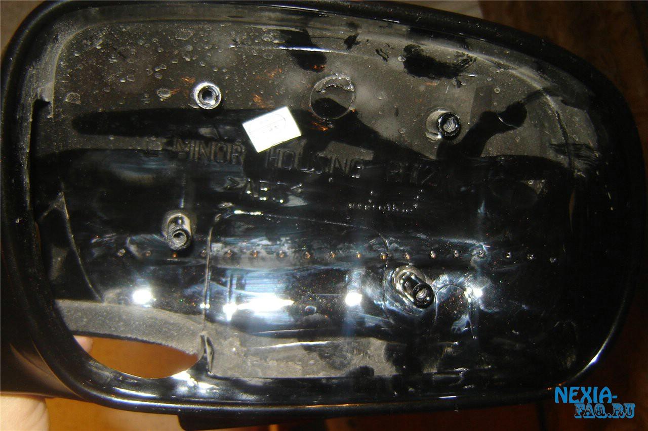 Светодиодный повторитель поворотника в зеркало нексии (nexia)