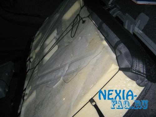 Как снять заднее сиденье на нексии (nexia).