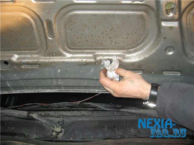 Веерные форсунки омывателя на нексию (nexia)