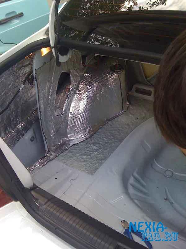 Шумоизоляция багажника нексии - Daewoo Nexia FAQ