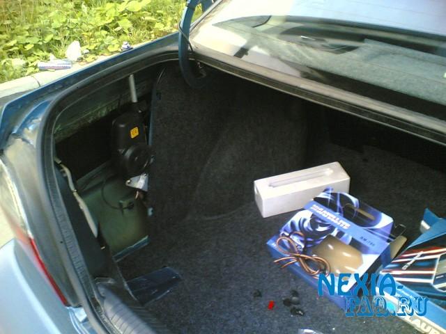 Установка парктроника на нексию своими руками фото 622