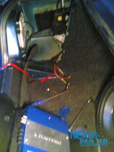 Установка парктроника на нексию своими руками фото 637