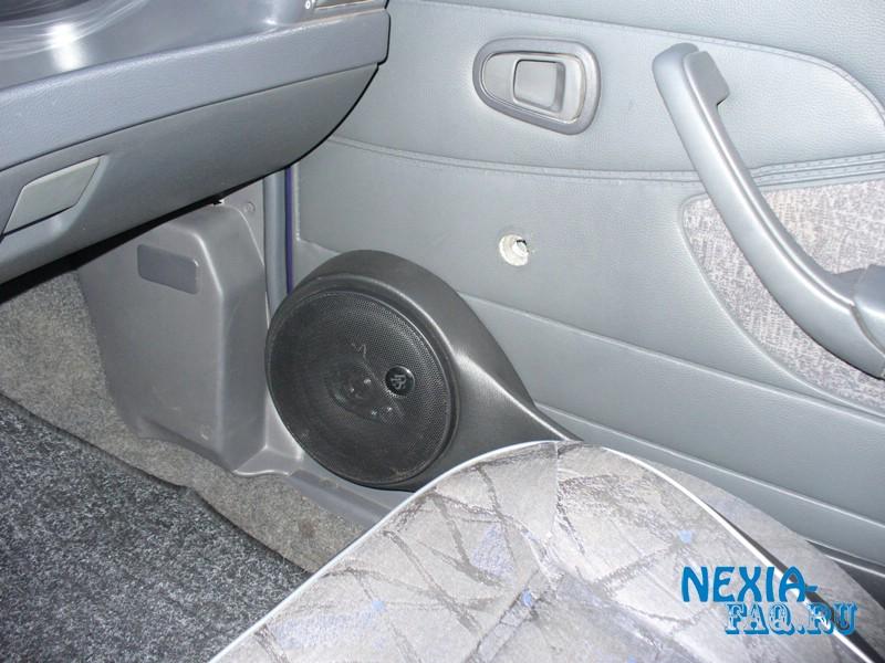 Установка дверных подиумов на нексию (nexia)