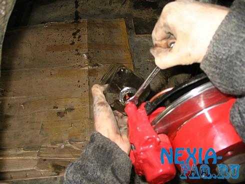 Задние дисковые тормоза на нексию (nexia)