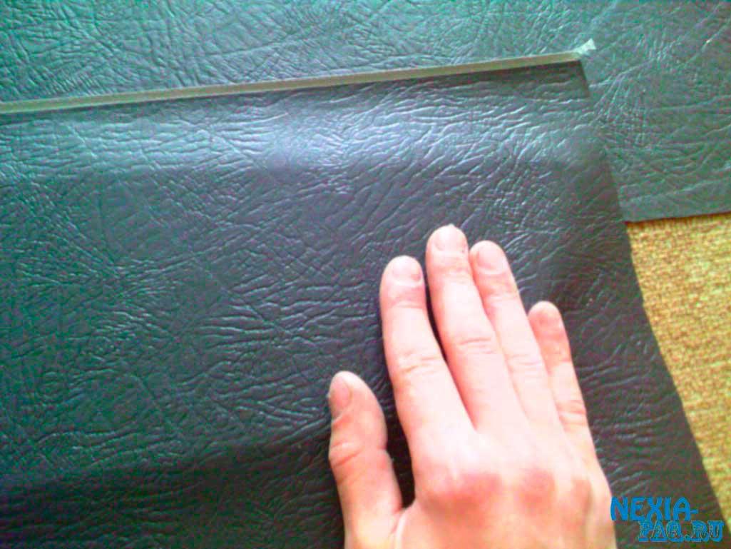 Перетяжка дверных карт (обшивки) на нексии (nexia)
