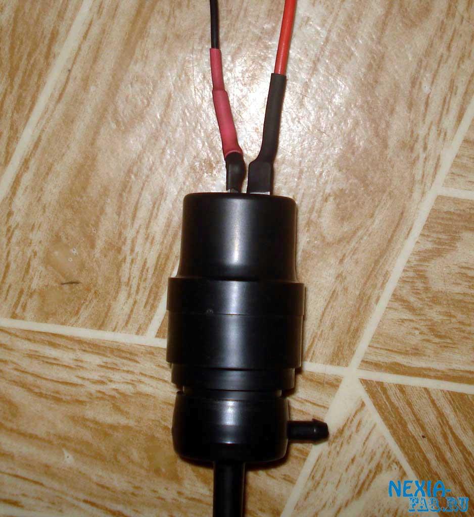 Фото №18 - насос омывателя лобового стекла ВАЗ 2110 характеристики