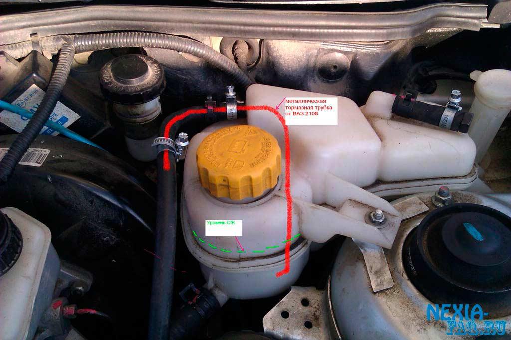 Плохо греет печка ланос при движении автомобиля