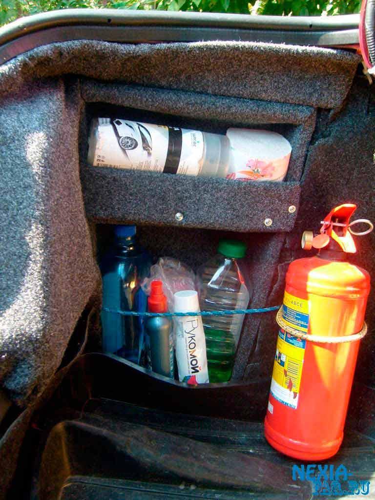 Ящики для багажника автомобиля своими руками 971
