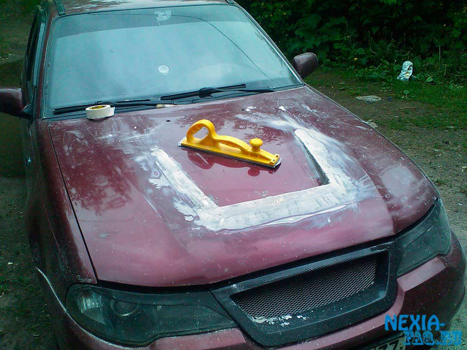 Капот своими руками на авто
