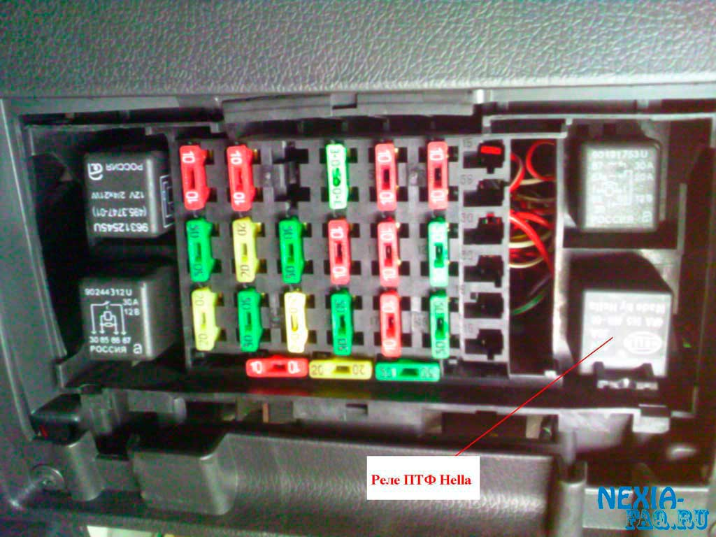 Инструкция по установке противотуманных фар Hella Micro DE в штатные места ПТФ на нексии N-150.