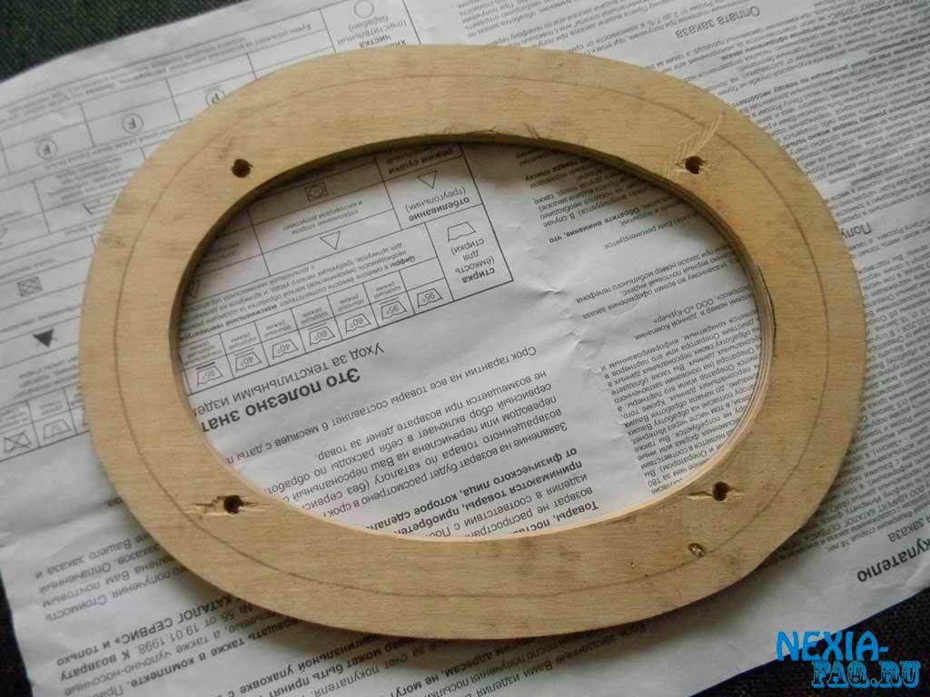 Как вырезать кольцо из фанеры своими руками 48