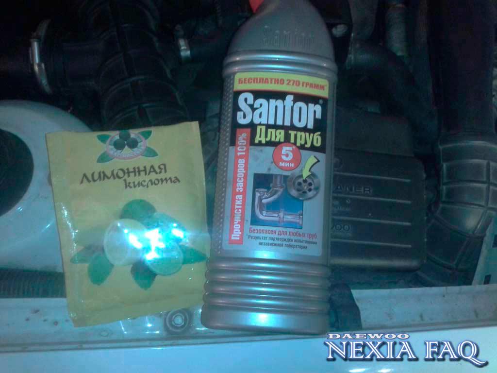 Чем промыть радиатор в домашних условиях