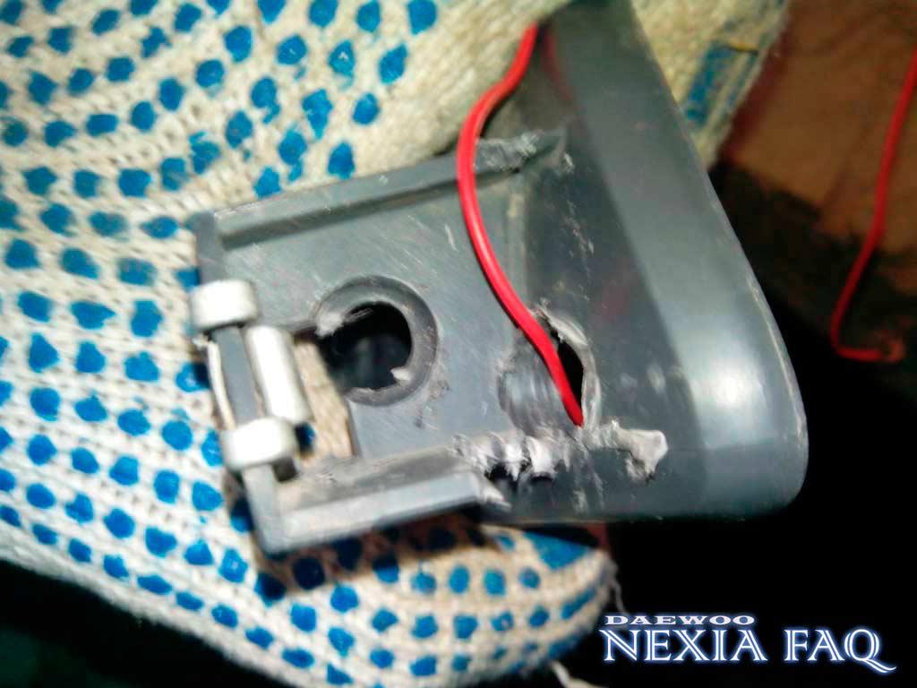 Светодиодные ДХО на нексию (nexia)