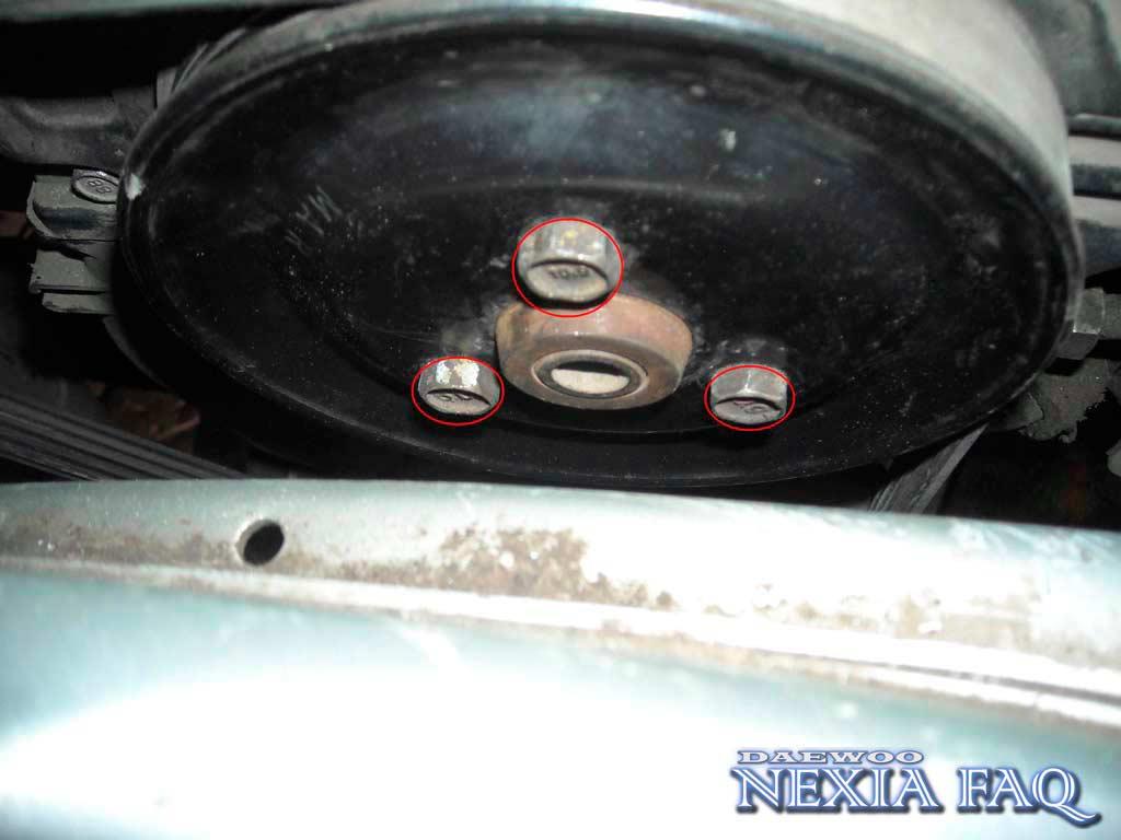 Замена ремня ГРМ на нексии (nexia)