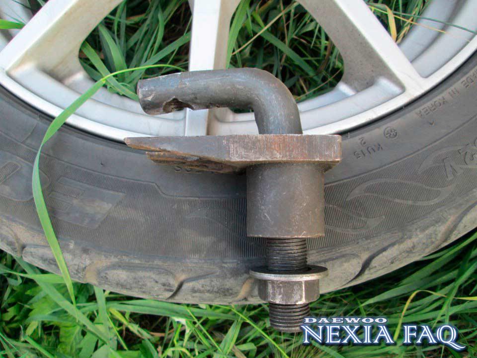 Замена шаровой опоры на нексии (nexia)