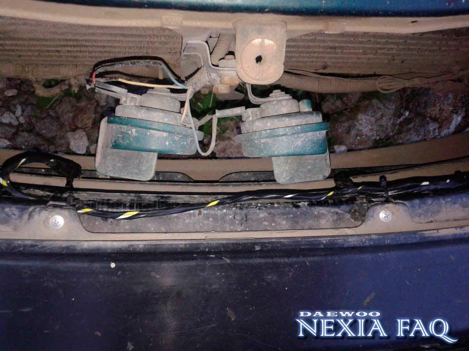 Дневные ходовые огни на нексию (nexia)