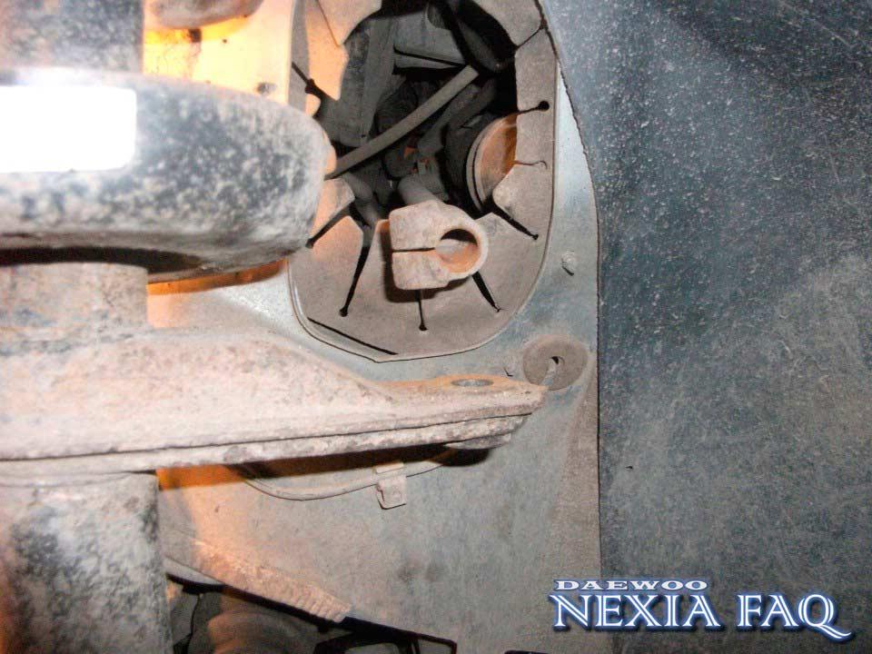 Замена рулевых наконечников на нексии (nexia)