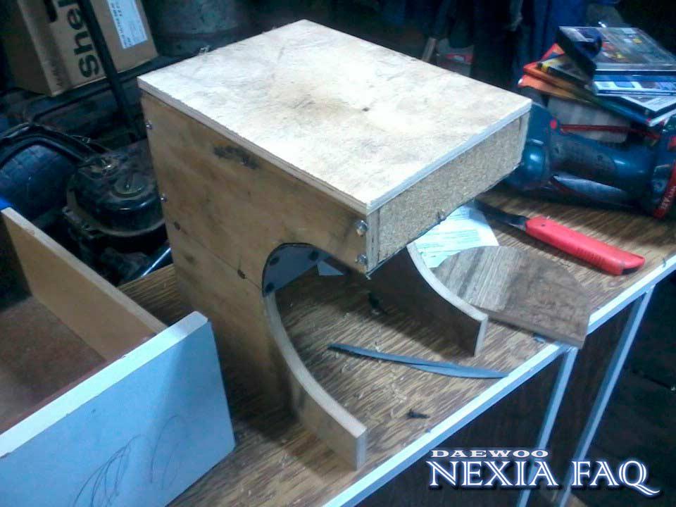 Подлокотник на нексию своими руками (nexia)