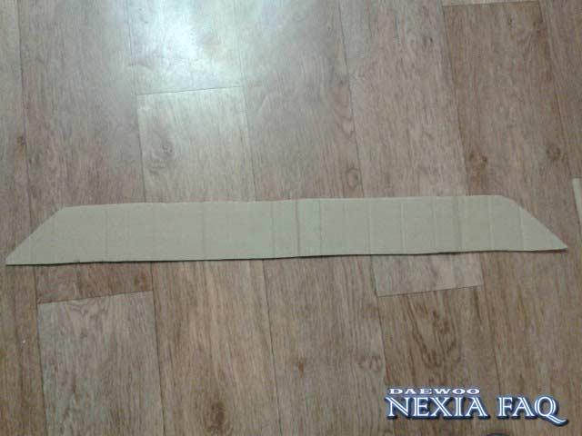 Сетка в бампер своими руками на нексии (nexia) N-150