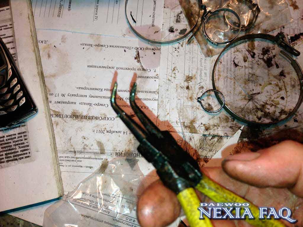 Замена ШРУС на нексии (nexia) без снятия полуоси