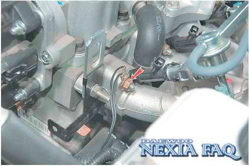 Замена прокладки ГБЦ на нексии (nexia)