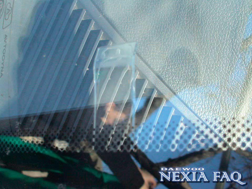 Держатель информационных табличек на нексию (nexia)