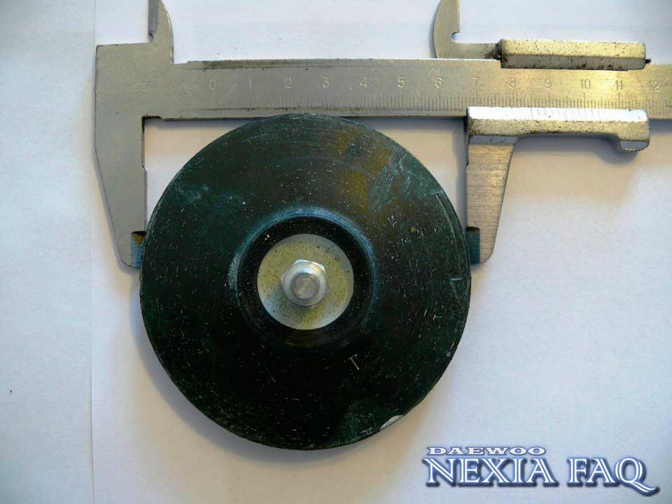 Шлифовка стекла фар на нексии (nexia)