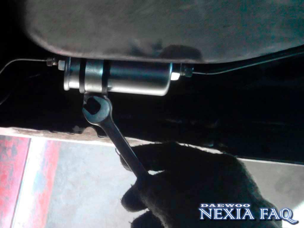 Замена топливных трубок на нексии (nexia)