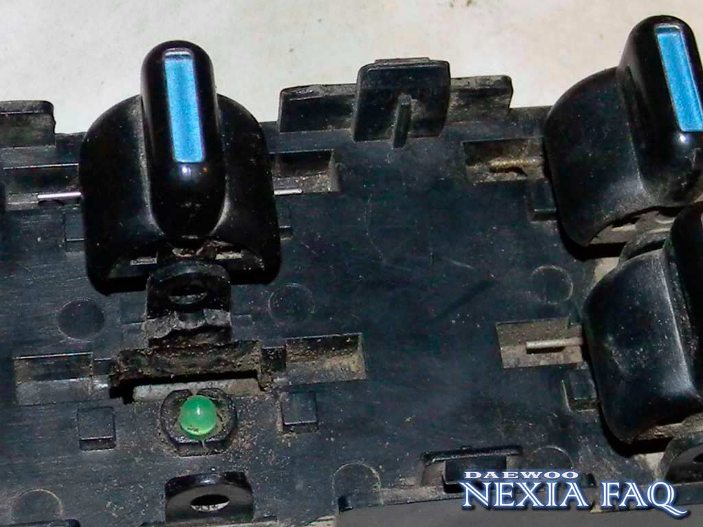 Ремонт блока ЭСП на нексии (nexia)