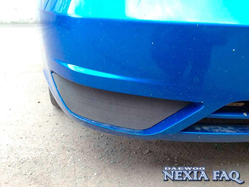 Сетка на ПТФ нексии (nexia)