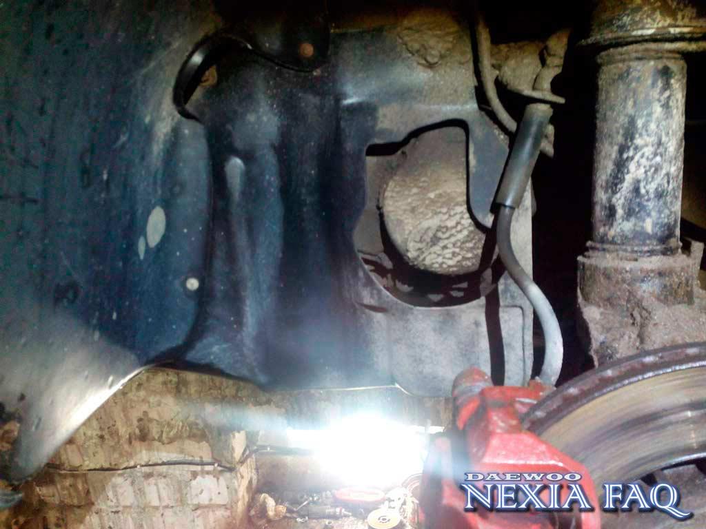 Разбор механизма КПП на нексии (nexia)