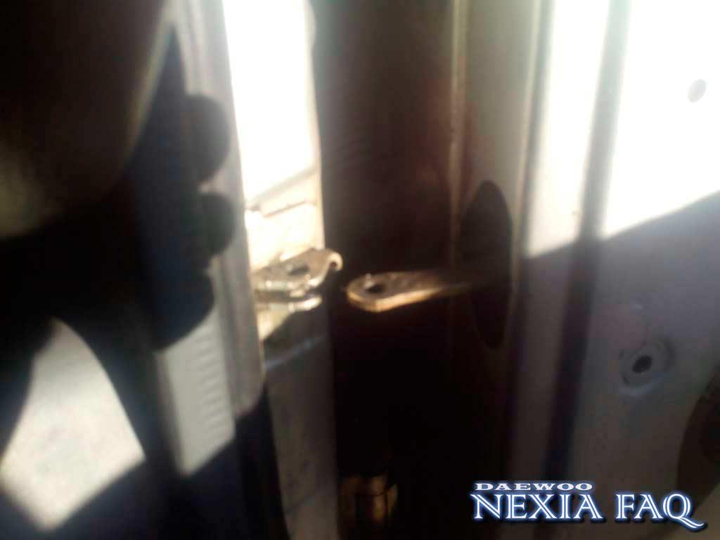 Ремонт тугих ограничителей дверей на нексии (nexia)