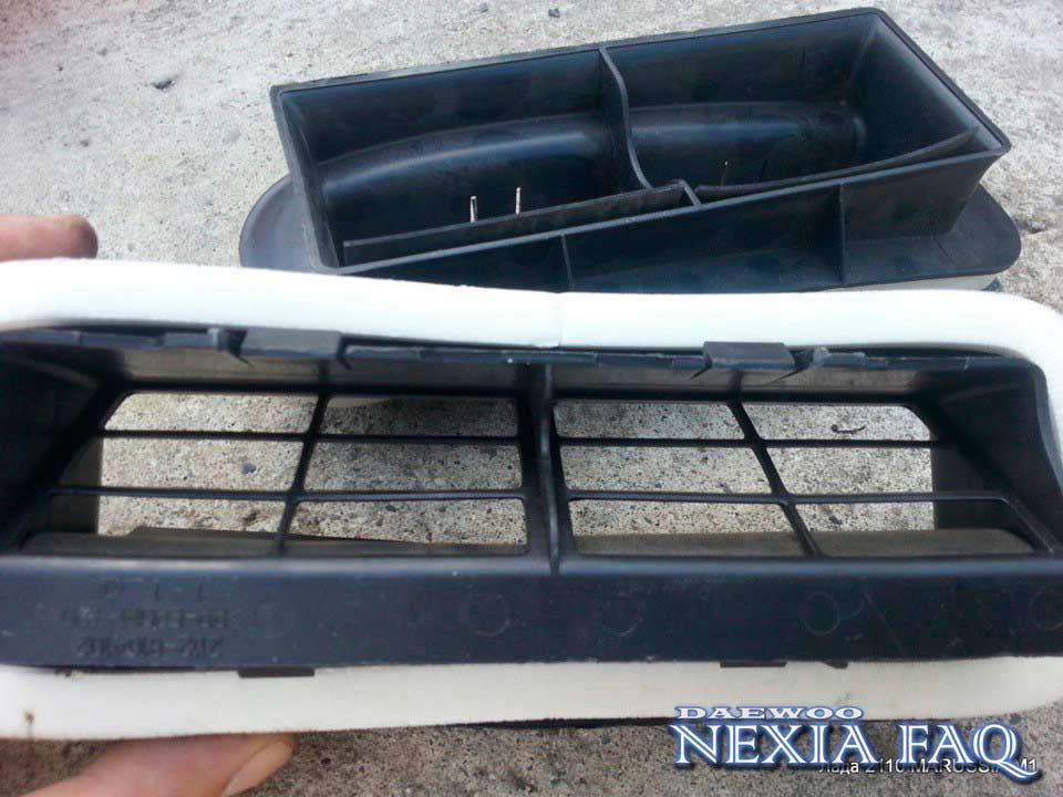Улучшенная вентиляция салона нексии (nexia)