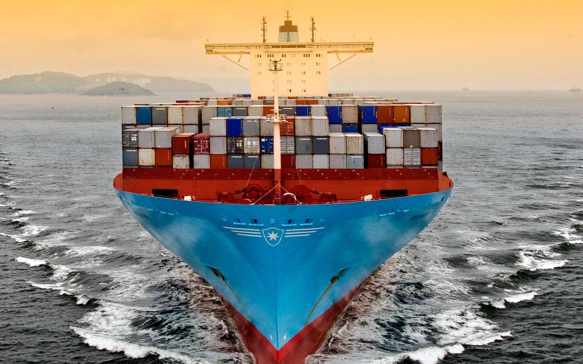 контейнерные перевозки кораблём