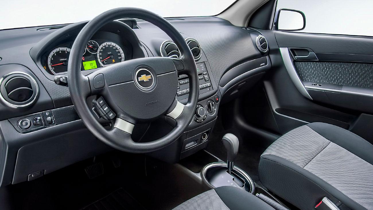 салон Chevrolet Nexia