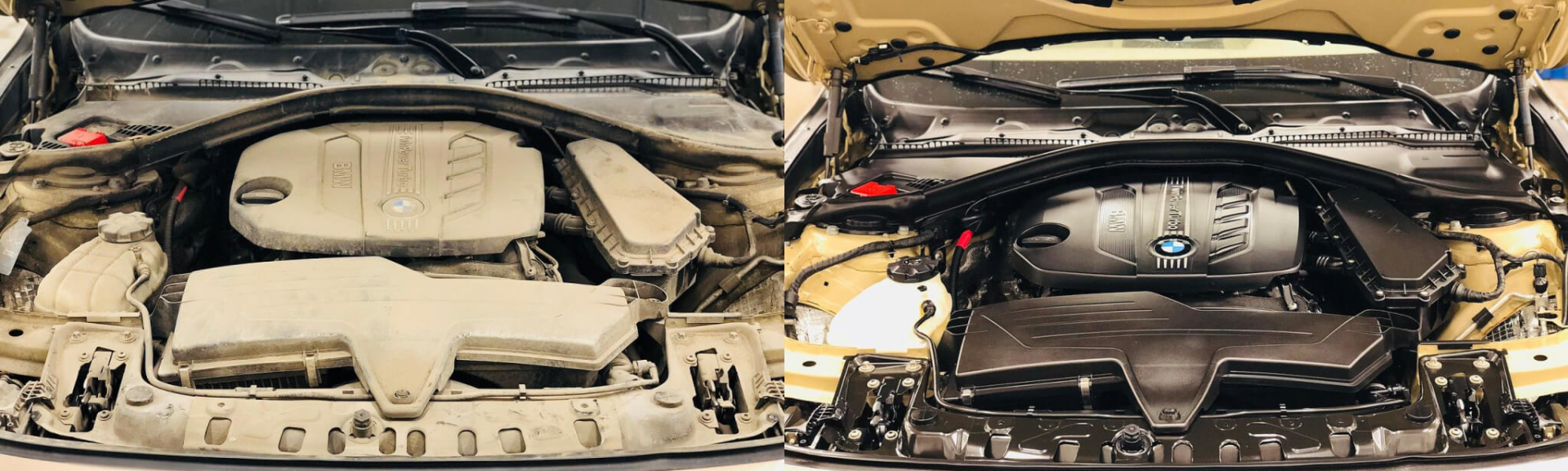 Мойка двигателя грузового автомобиля